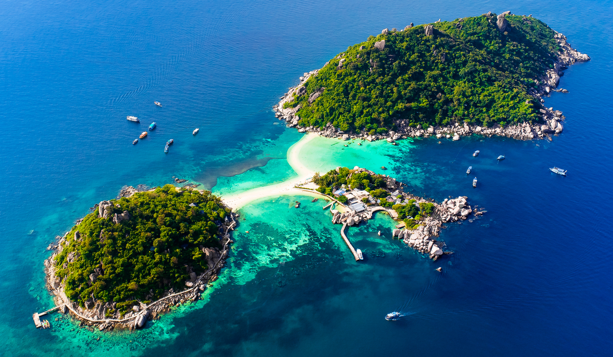 Koh Nang Yuan Beach Surat Thani Beach Thailand