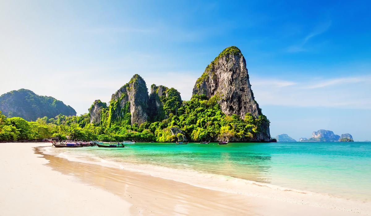 railey Krabi Thailand Beach