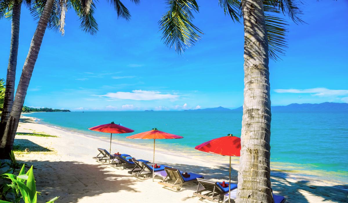 samui Maenam Beach Thailand